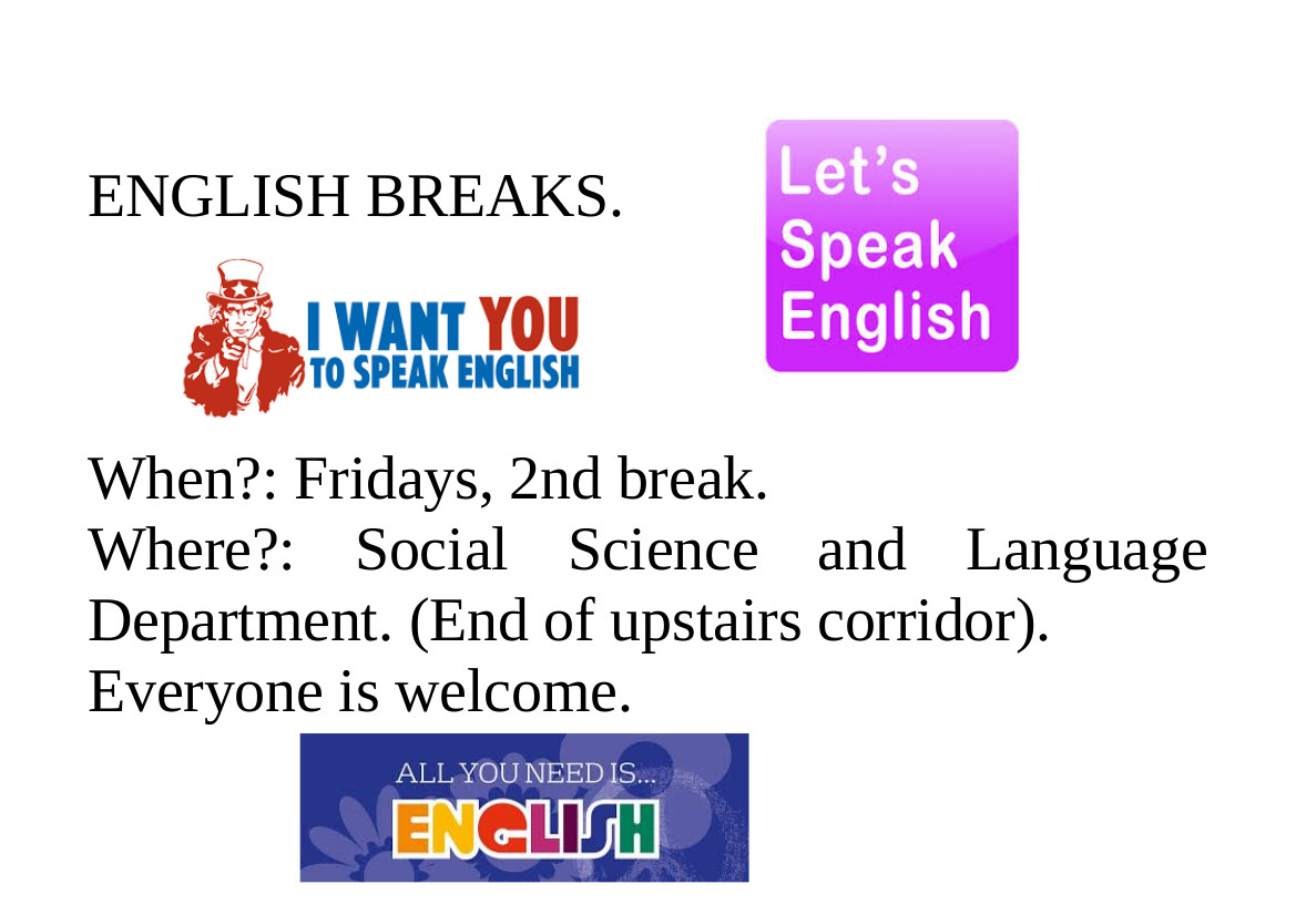 English breaks blog